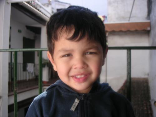 スペインの子供