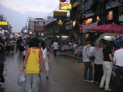 タイ カオサンロードにて
